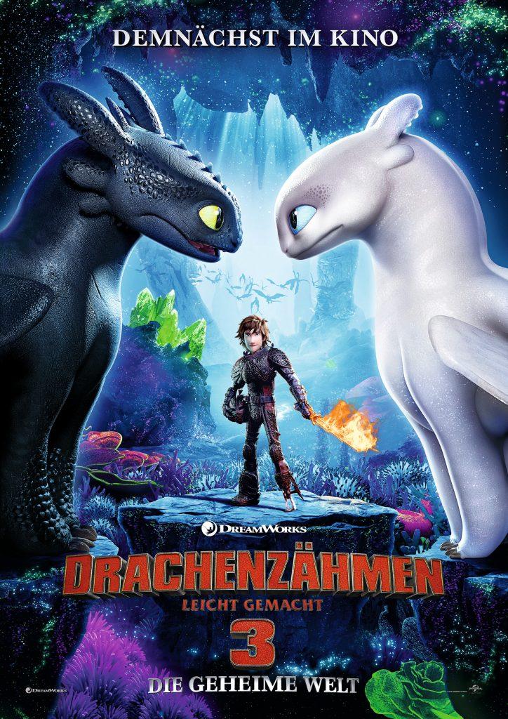 Plakat zu Drachenzähmen leicht gemacht 3 © Universal Pictures
