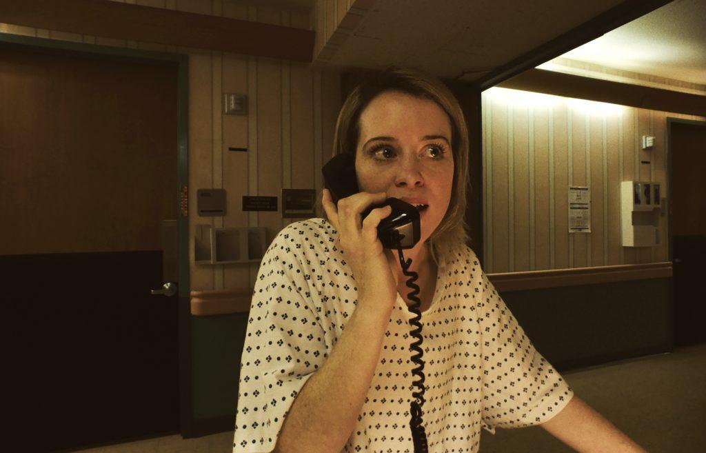 """Claire Foy als """"Sawyer Valentini"""" in Unsane - Ausgeliefert © 20th Century Fox"""