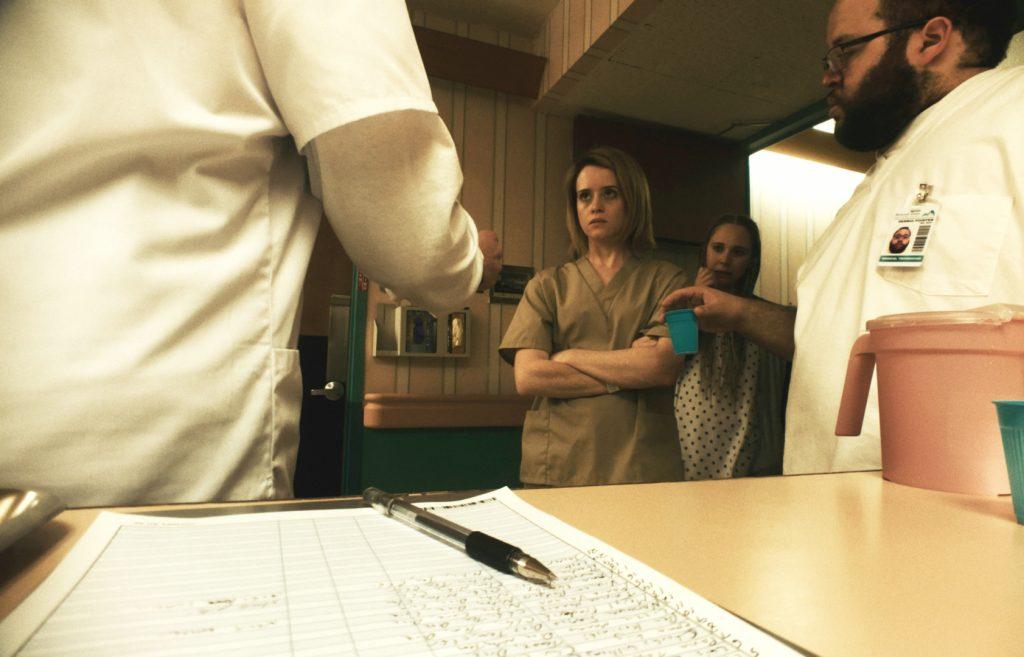 """Sawyer Valentini weigert sich ihre Tabletten zu nehmen """" in Unsane - Ausgeliefert © 20th Century Fox"""
