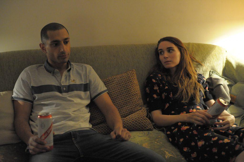 """Riz Ahmed und Rooney Mara als """"Scott"""" und """"Una"""" in """"Una & Ray"""""""