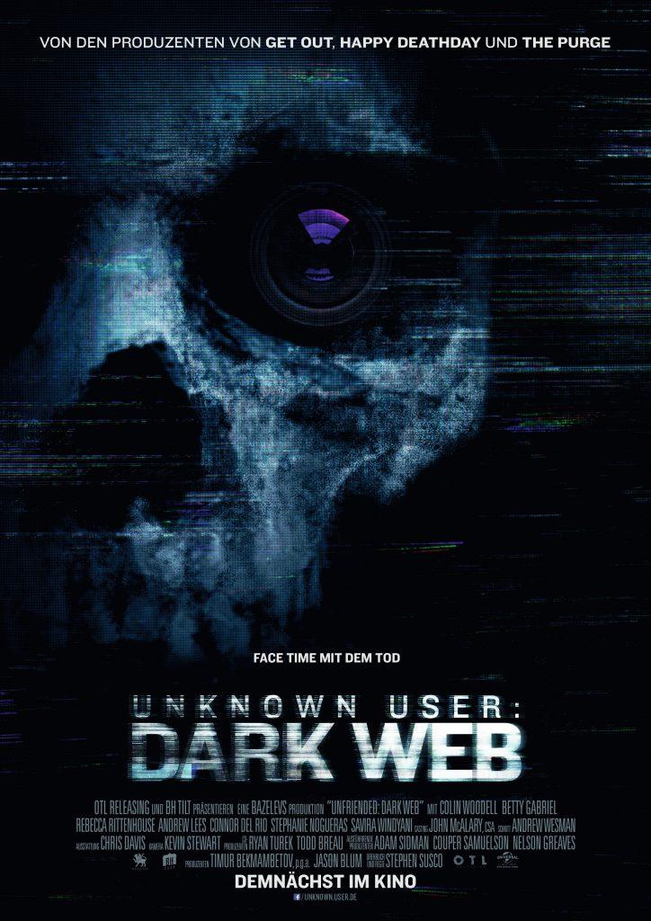 Poster zu Unknown User: Dark Web © Universal Pictures