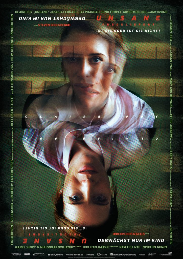 """Filmplakat von """"Unsane - Ausgeliefert"""" © 20th Century Fox"""