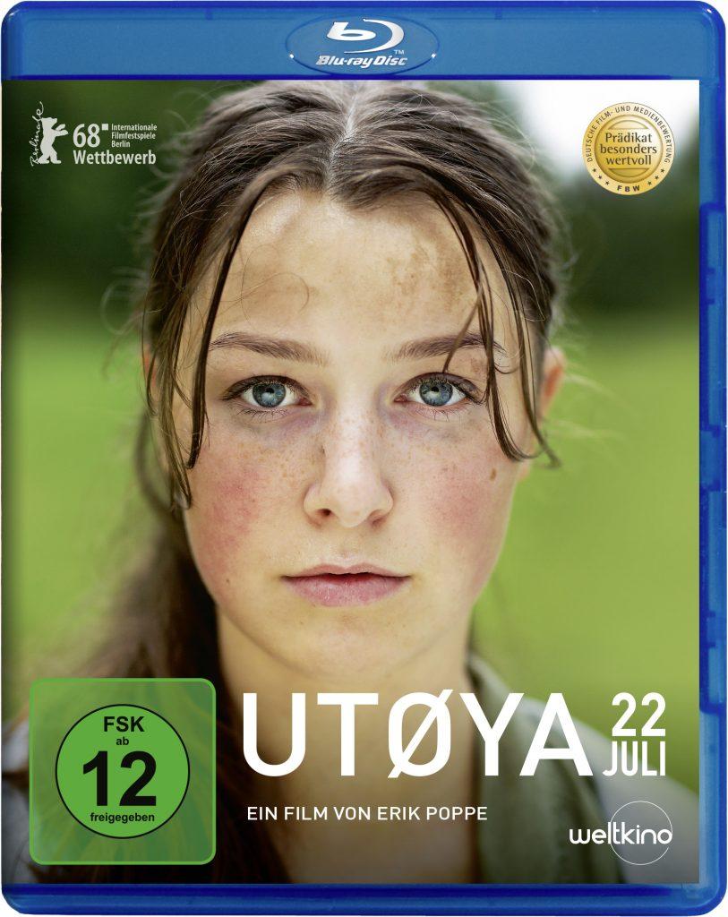 """Blu-ray Cover von """"Utøya 22. Juli""""© Weltkino"""