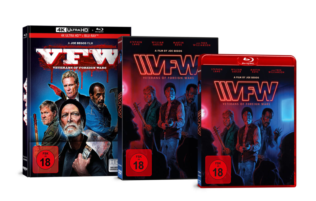 DVD, Blu-ray und Mediabook vom Film VFW - Veterans of Foreign Wars