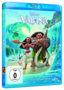 Bluray-Cover von Vaiana aus 2016. ©Walt Disney Studios Home Entertainment Germany