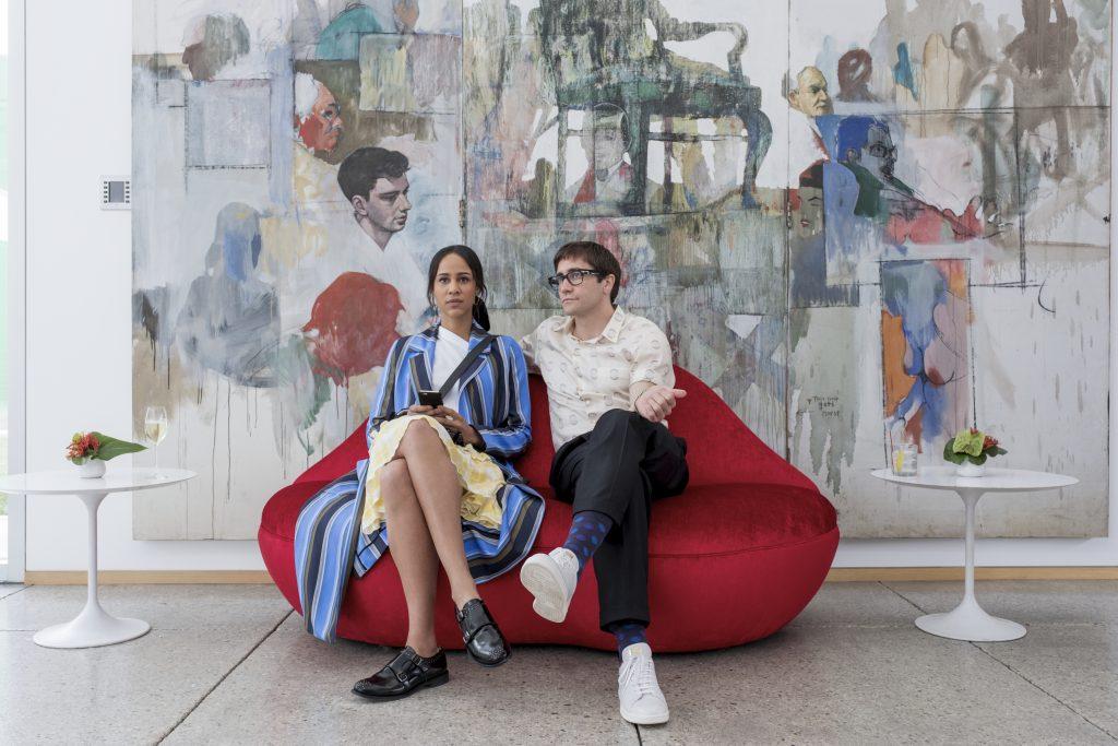 Jake Gyllenhaal schwadroniert über Kunst in Die Kunst des toten Mannes. © Netflix