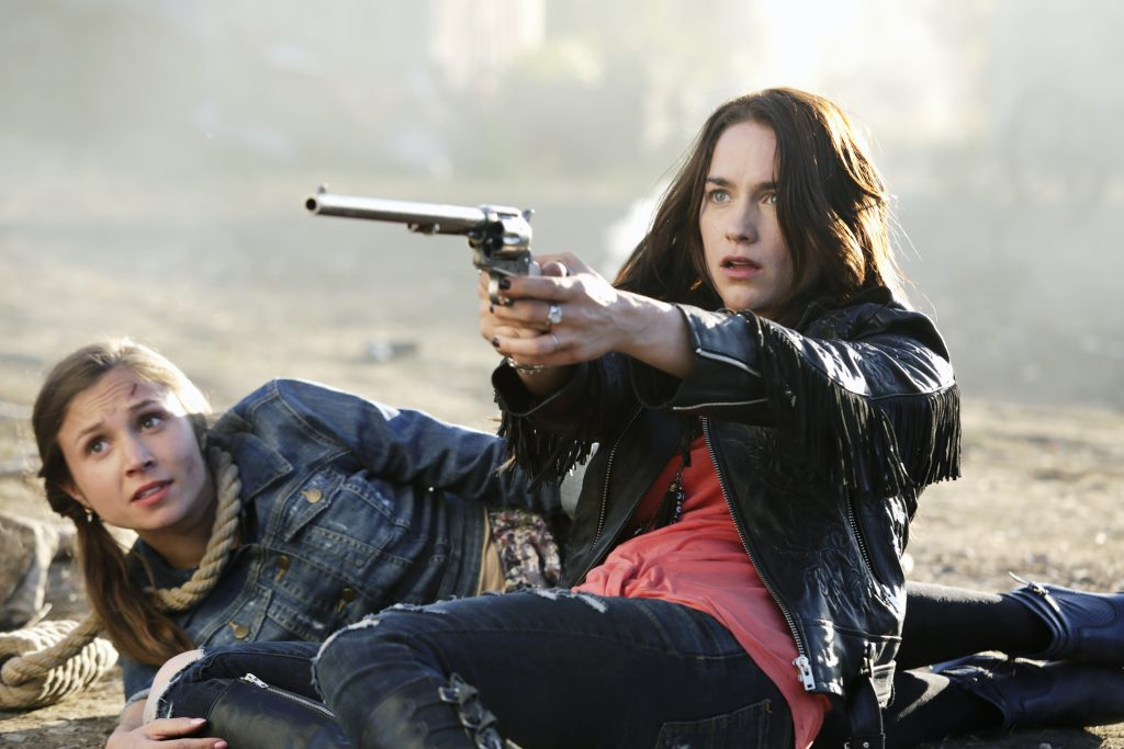 Scene from Wynonna Earp Season 1 © justbridge Entertainment