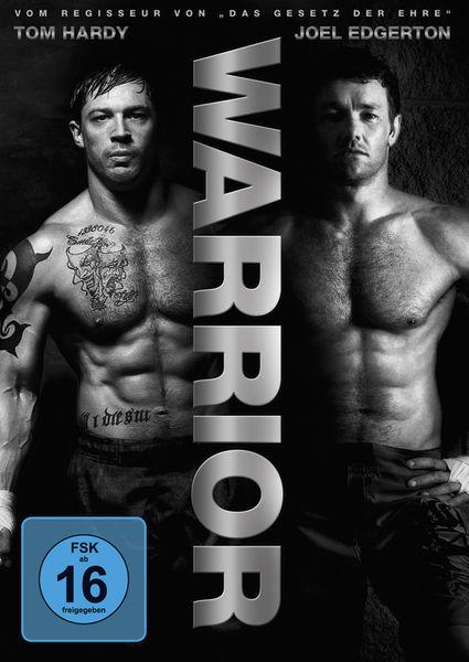 Die zwei Kämpfer Tom Hardy & Joel Edgerton auf dem Cover von Warrior