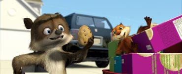 Waschbär Richie und Eichhörnchen Hammy © Universal Pictures