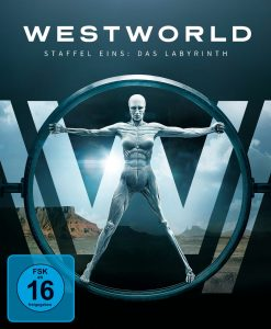 DVD-Cover von Westworld Staffel 1