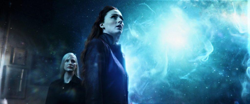 Vuk (Jessica Chastain) zeigt Jean (Sophie Turner) ihr volles Potential in X-Men: Dark Phoenix. © 2019 Twentieth Century Fox