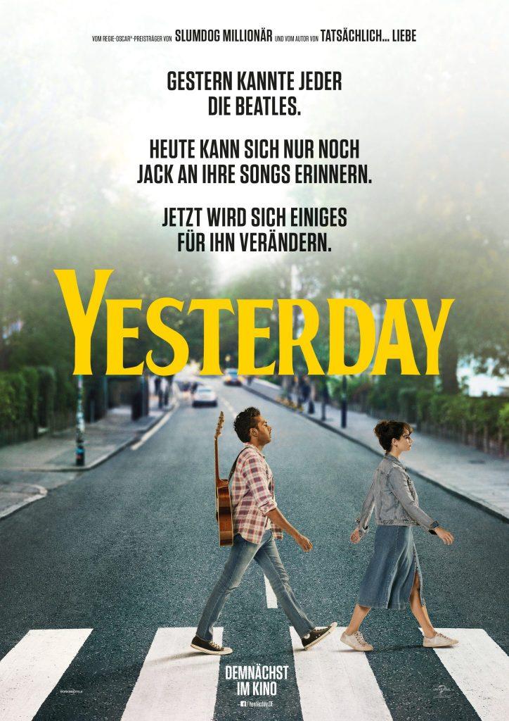 Das Filmplakat zu Yesterday © Universal Pictures