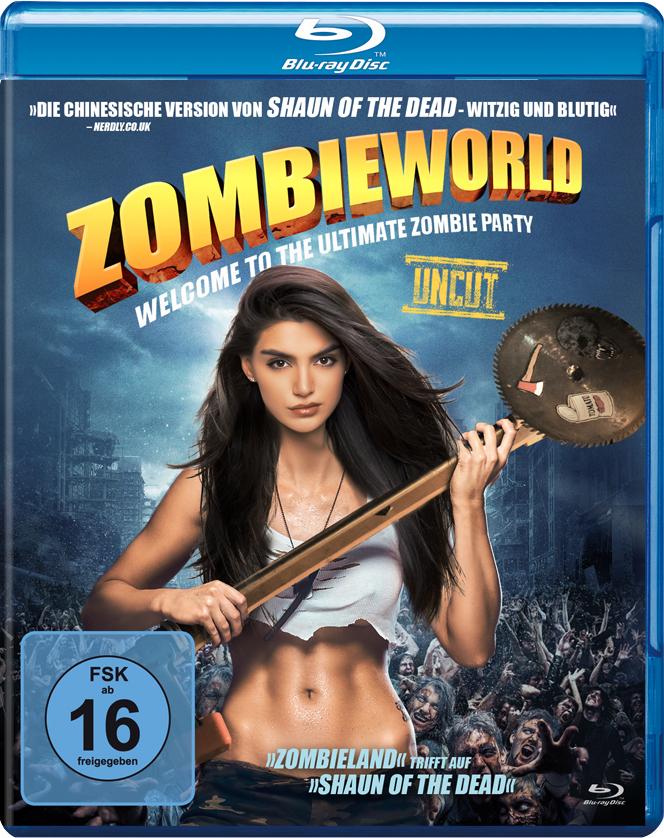 Das Cover der deutschen Blu-ray. | ZOMBIEWORLD © Tiberius Film