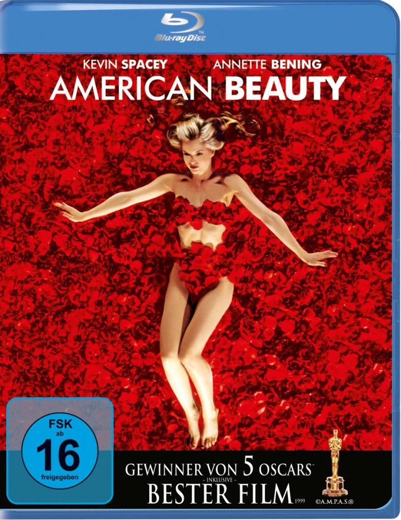 "Das Bluray Cover von American Beauty. Quelle: Blu-Ray zu ""American Beauty"", ©Universal Pictures"