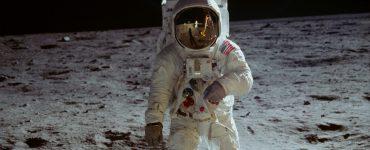 Neil Armstrong nach der Apollo 11 Mondlandung