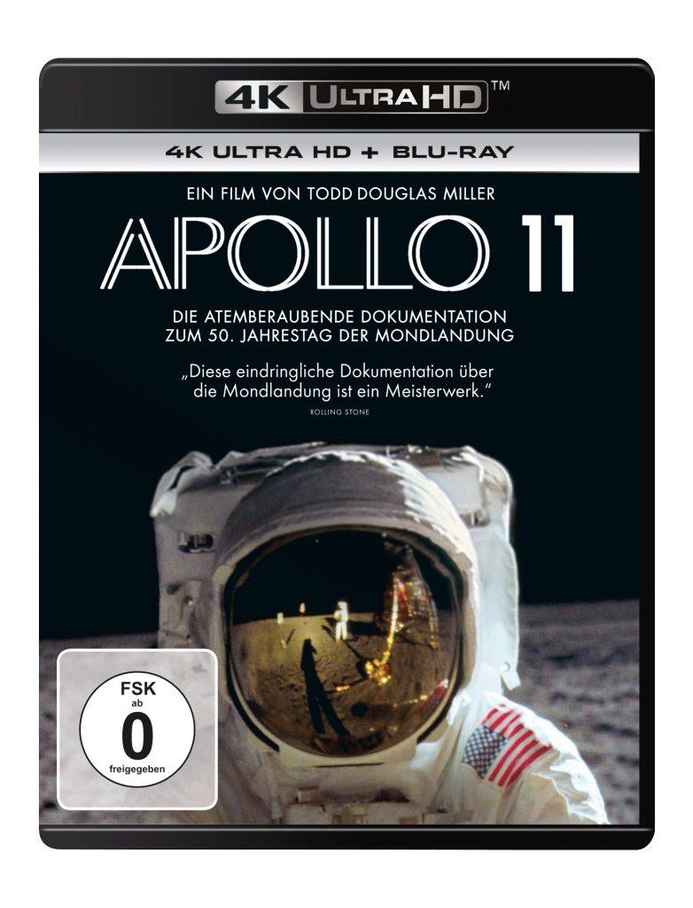 """Offizielles UHD Cover von """"Apollo 11"""""""