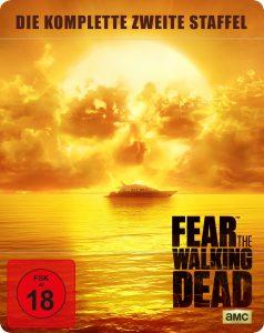 Steelbook-Cover von Fear the Waling Dead aus 2017 von ©Splendid Filmverleih