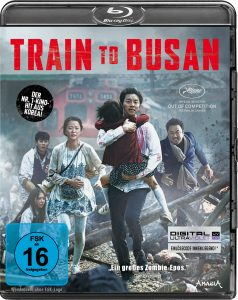 Bluray-Cover von Train to Busan aus 2017 von ©Splendid Film GmbH