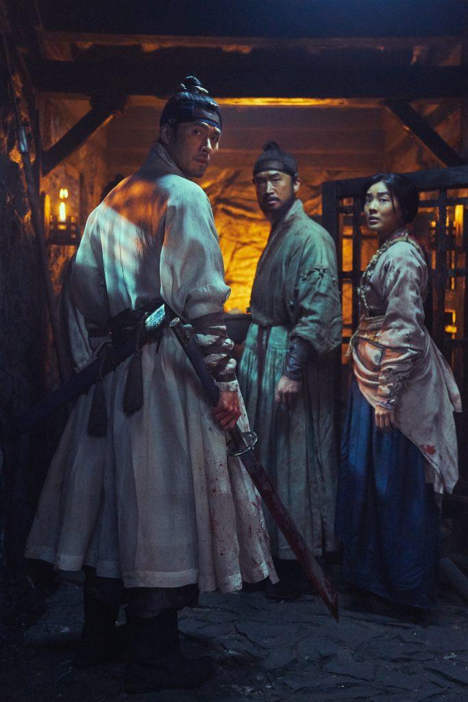 Prinz Lee Chung (Hyun Bin) und seine Helfer © Splendid Film