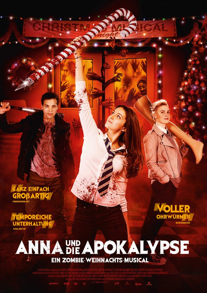 """Plakat zu """"Anna und die Apokalypse"""" © Splendid Film"""