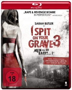 "Cover der BluRay von ""I Spit On Your Grave 3"" © Tiberius Film"
