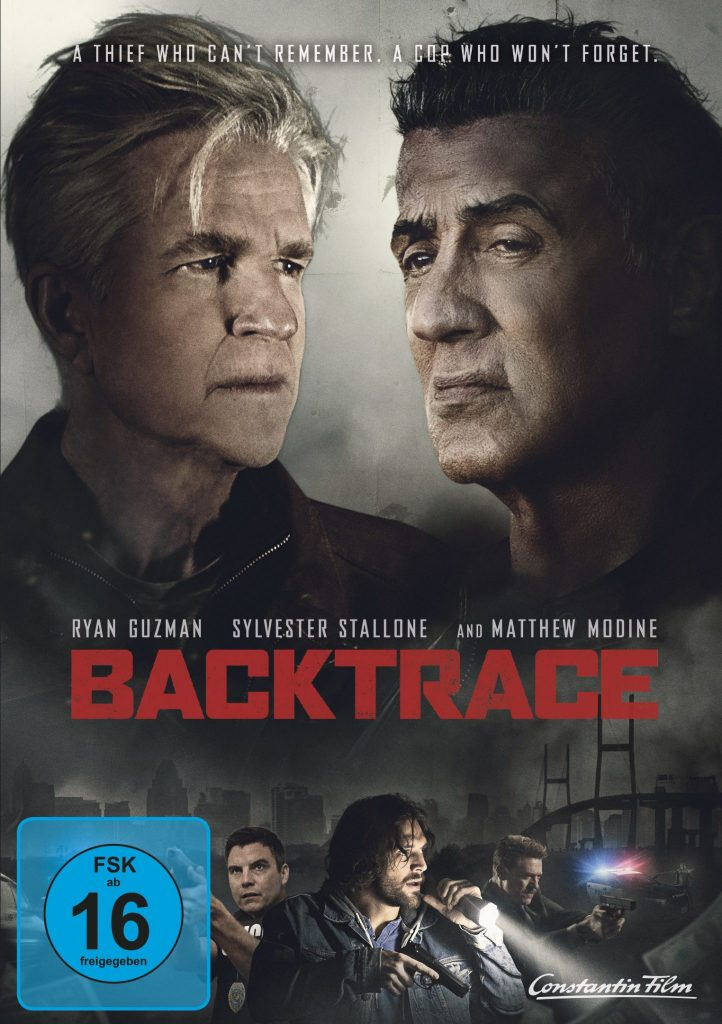 Das DVD Cover von Backtrace. © Constantin Film