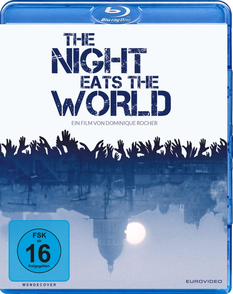 Das offizielle Bluray-Cover | The Night Eats the World (©EuroVideo)