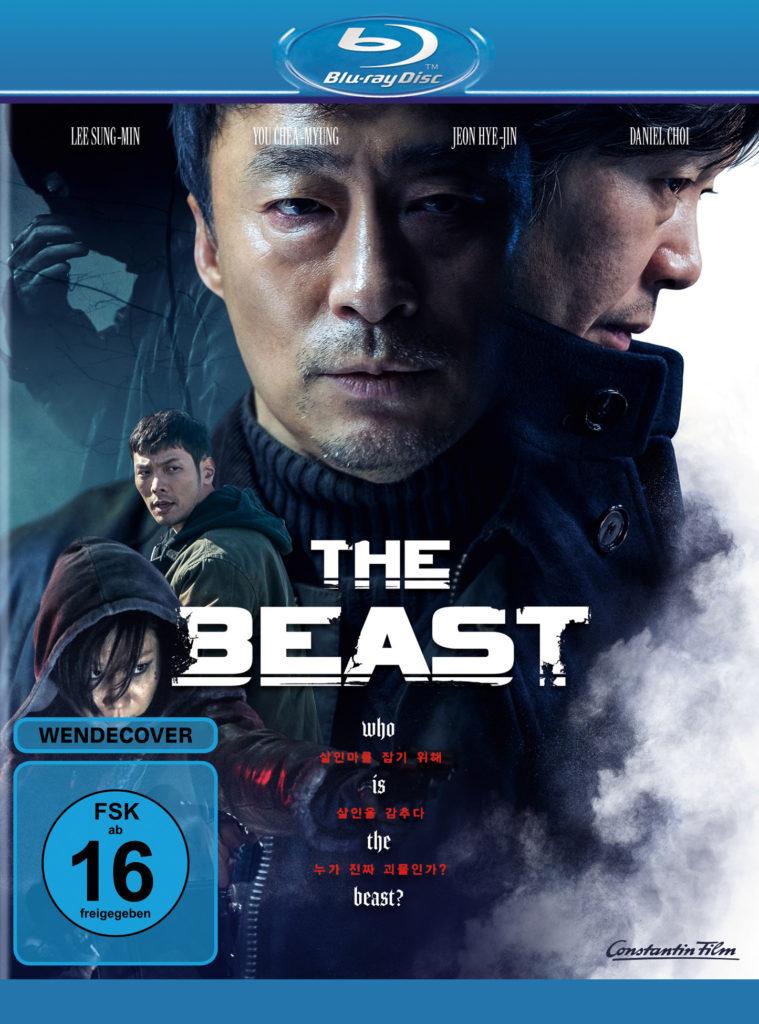 """Sung-min Lee und Jae-myung Yoo auf dem offiziellen Blu-Ray Cover zu """"The Beast"""""""