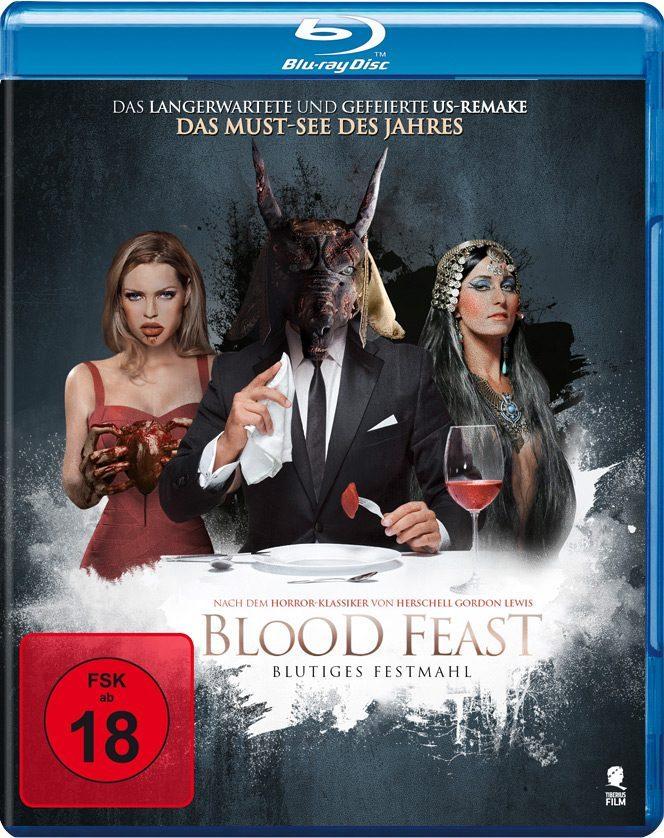 Cover der deutschen Blu-Ray | BLOOD FEAST © Tiberius Film