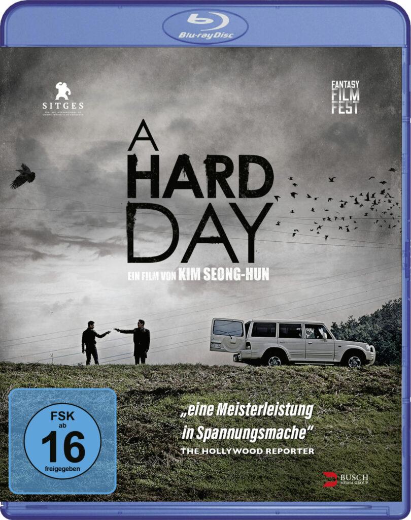 Front-Covermotiv der Blu-ray zu A Hard Day