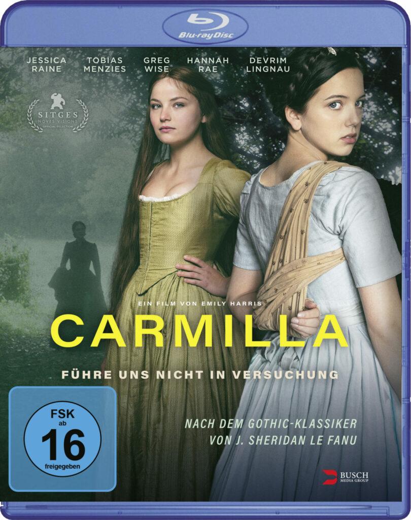 Front-Covermotiv der Blu-ray zu Carmilla