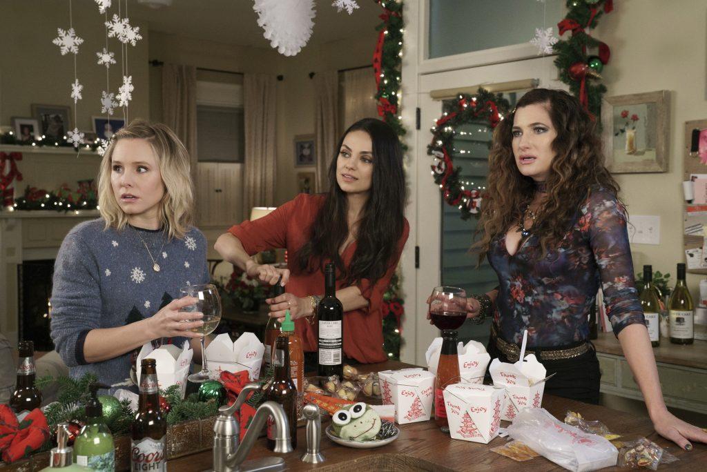 Kristen Bell, Mila Kunis, and Kathryn Hahn star in A BAD MOMS CHRISTMAS © TOBIS Film GmbH