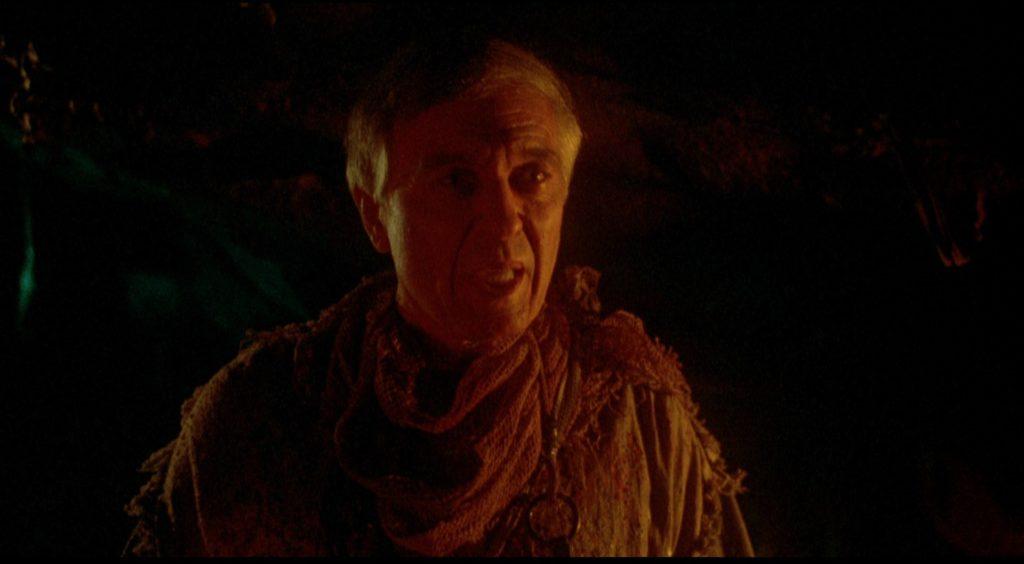Angus Scrimm als Sektenführer Seer in Brain Slasher