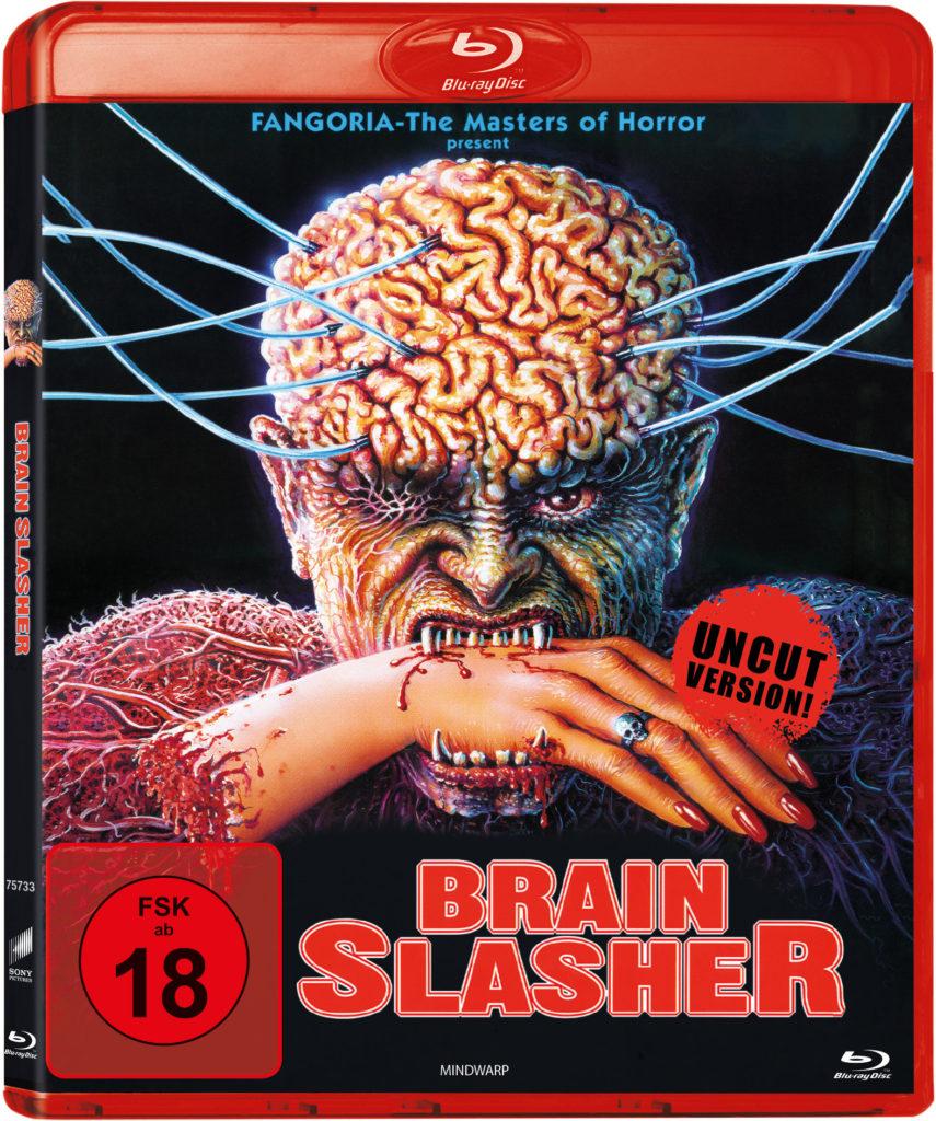 Das Cover der Blu-ray-Fassung von Brain Slasher (Mindwarp)