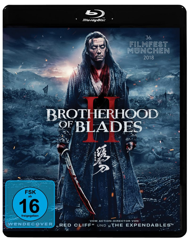 BD Cover Brotherhood of Blades II © Pandastorm Pictures