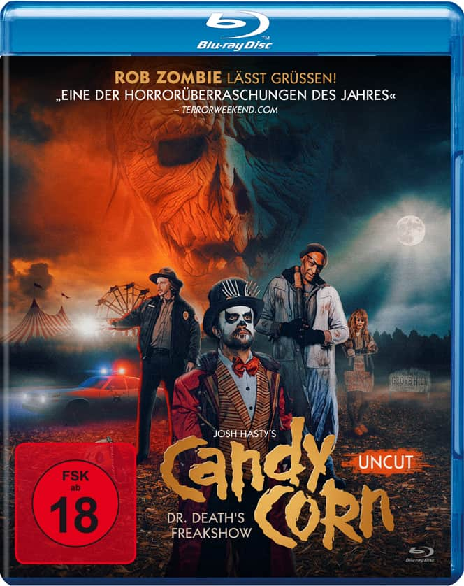 Das Blu-ray-Cover zu Candy Corn © Sony Pictures