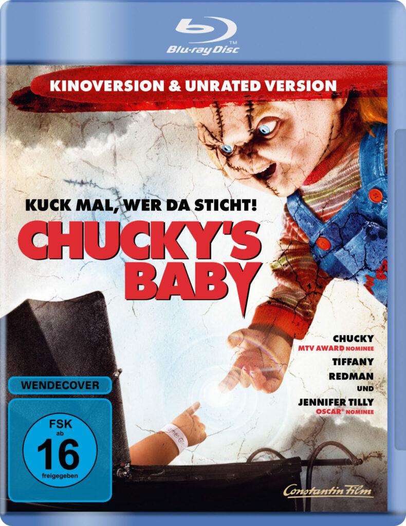 Front-Covermotiv der Blu-ray zu Chucky's Baby