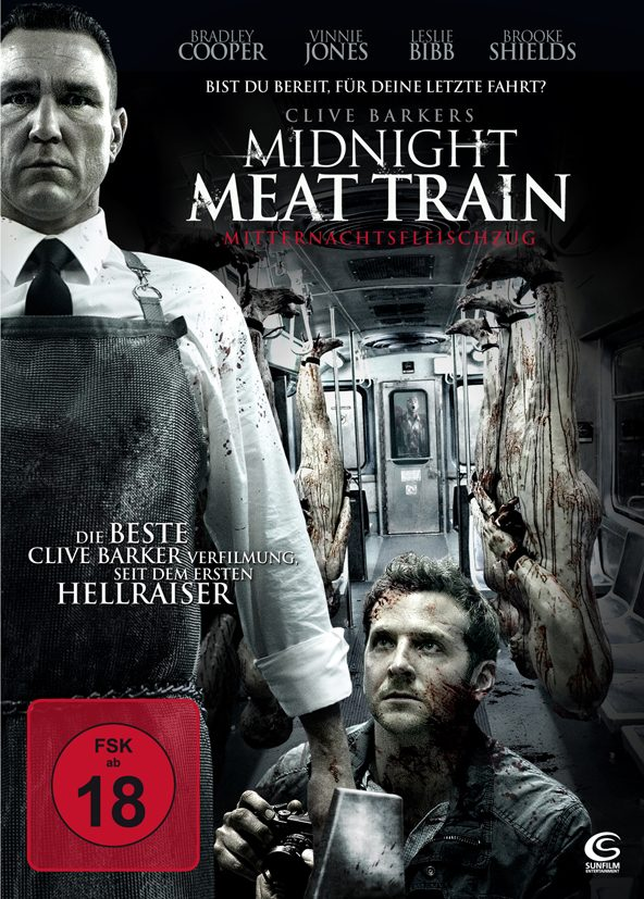 Das DVD Cover von Midnight Meat Train. © Tiberius Film