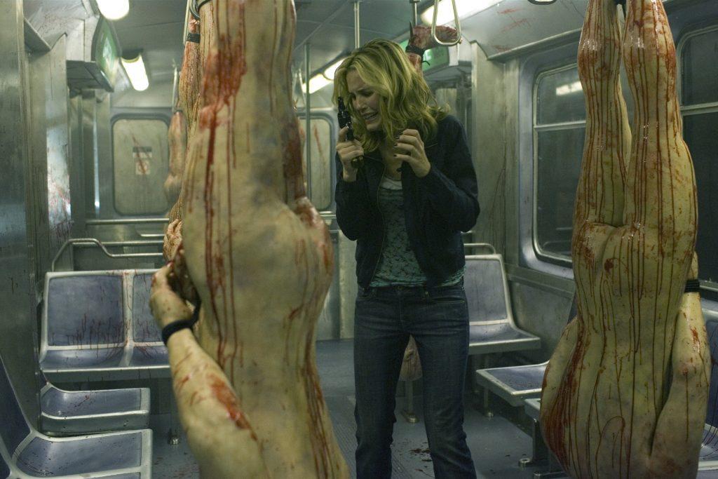 In den Midnight Meat Train kommen die Leute, um mal gepflegt eine Runde abzuhängen. © Tiberius Film