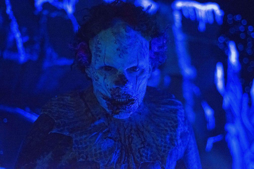 Eli Roth als fieser Clown. © Tiberius Film