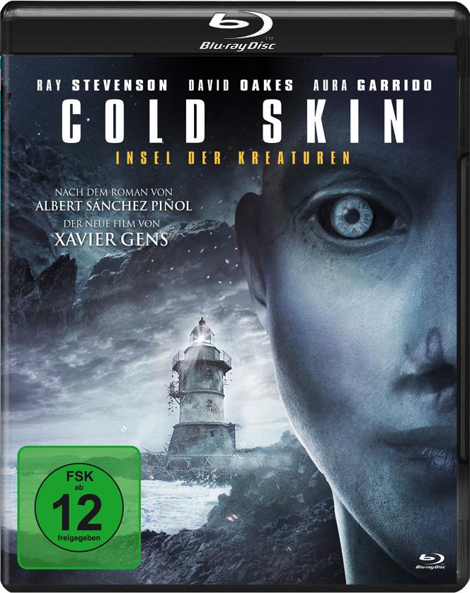 """Blu-ray Cover von """"Cold Skin - Insel der Kreaturen"""" © Tiberius Film"""
