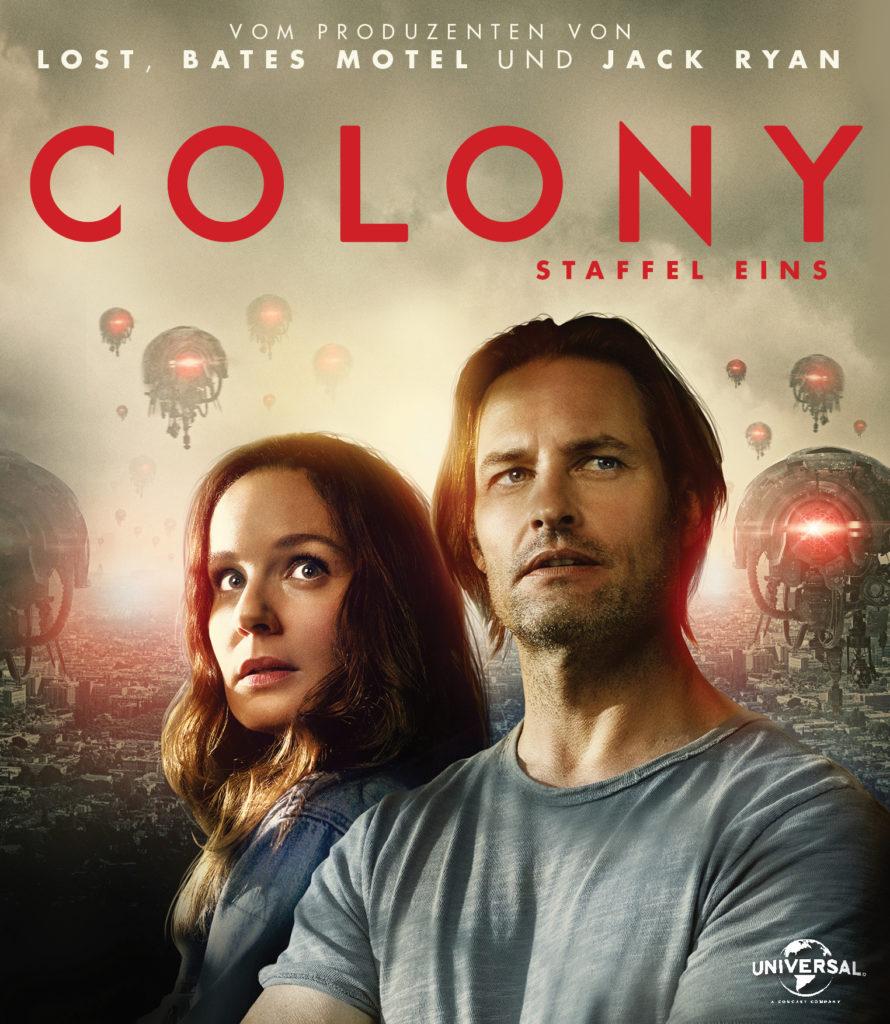 Das Cover der DVD von Colony - Staffel 1.