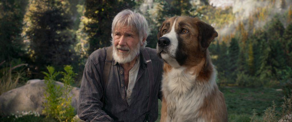 """Buck und John Thornton folgen gemeinsam dem """"Ruf der Wildnis"""""""