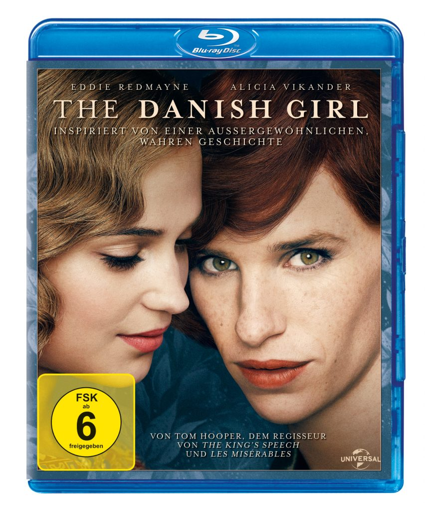 "Das Bluray Cover von The Danish Girl. ""The Danish Girl"" auf Blu-ray & DVD erhältlich (© Universal Pictures)"