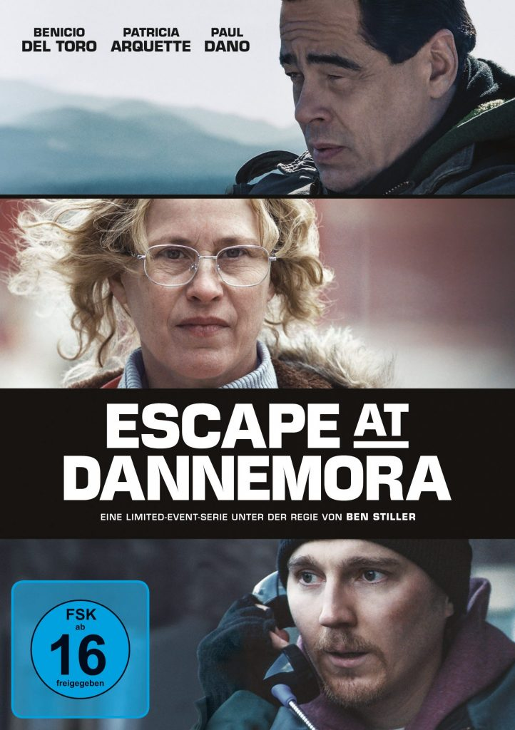 Das DVD-Cover von Escape at Dannemora © Paramount Pictures