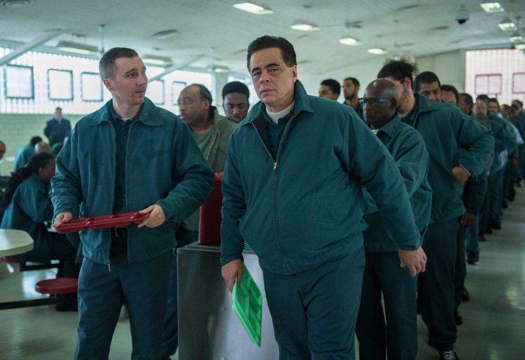 Häftlinge Sweat und Matt planen heimlich ihre Flucht © Paramount Pictures