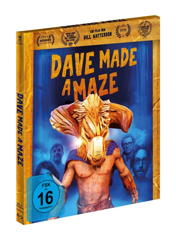 Cover des deutschen Digibooks. | DAVE MADE A MAZE © Pandastorm Pictures