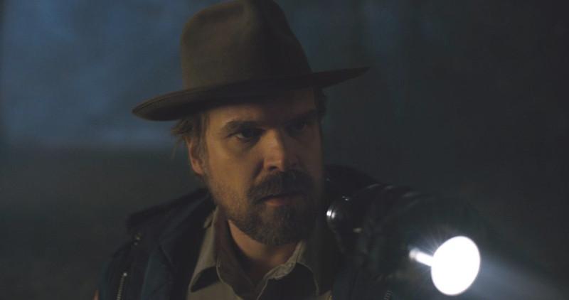 David Harbour, bekannt aus Stranger Things, spielt im Hellboy-Reboot die Hauptrolle ©Netflix
