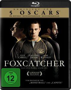 Bluray-Cover von Foxcatcher aus 2017 von ©Koch Films