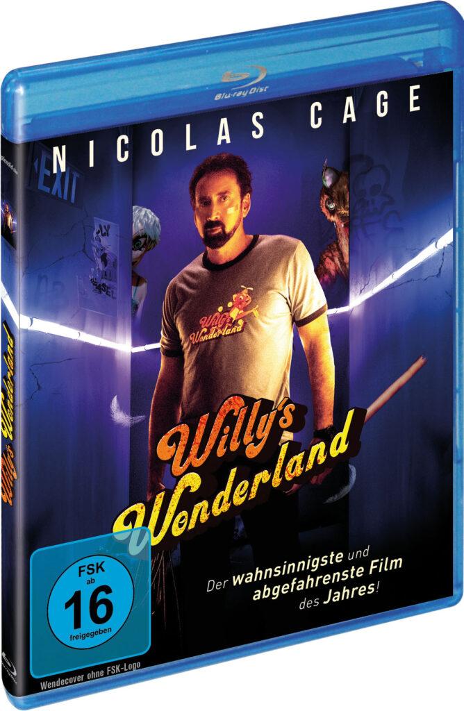 Das offizielle Cover zu Willy's Wonderland